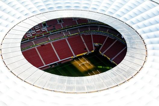 "National Stadium of Brasilia ""Mané Garrincha"" / Castro Mello Architects. Image © Bento Viana"