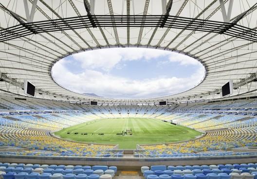 Maracanã Stadium Coverage / Schlaich Bergermann und Partner. Image © Marcus Bredt cortesia de Schlaich Bergermann und Partner