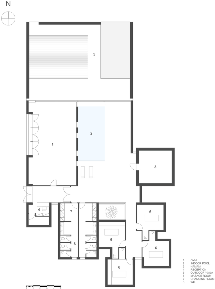 casa cook kos hotelspa floor plan - Spa Floor Plan