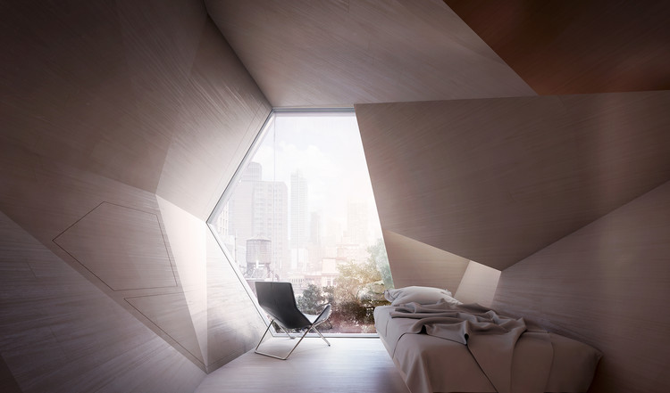 3D Printed Hexagonal Pods Could House New York City's Homeless , Courtesy of Framlab
