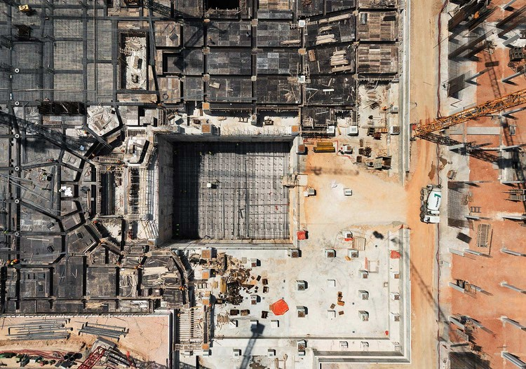 See the Construction of Renzo Piano's Stavros Niarchos Foundation Cultural Centre From Above, © Yiorgis Yerolymbos