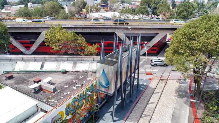Gaeta-Springall Arquitectos inaugura el nuevo Parque Lineal Ferrocarril de Cuernavaca en Ciudad de México, © Arturo Arrieta
