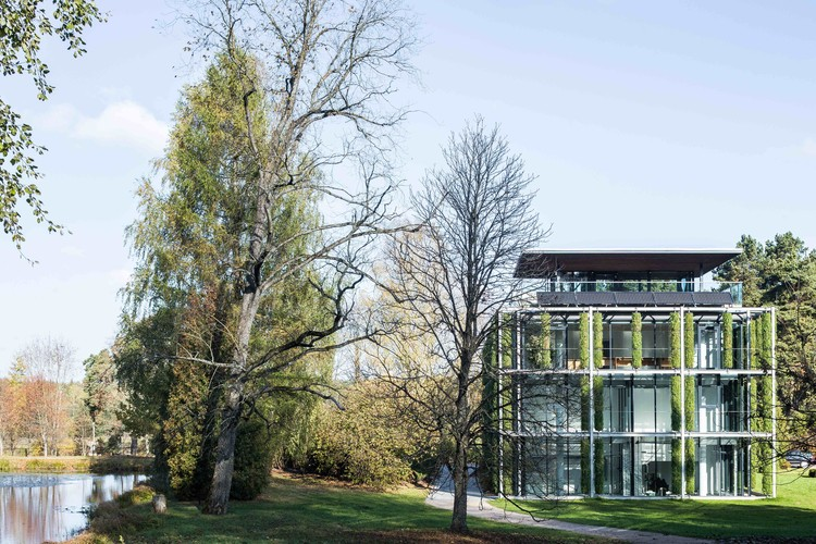 VU Botanical Garden Laboratory / Paleko architektu studija, © Norbert Tukaj