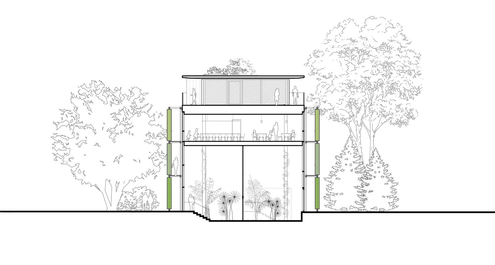 VU Botanical Garden Laboratory,Section