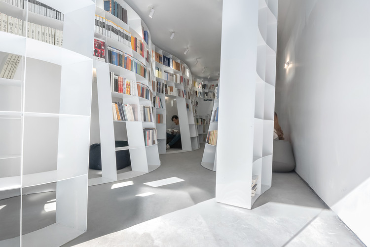 Enclave Book Pavilion  / Aether Architects, © Zhang Chao