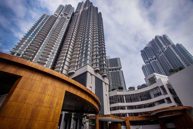 Residencias Teega en Puteri Harbour / Liu & Wo Architects - Джохор-Бару, Малайзия. Изображение Cortesía de Parklex