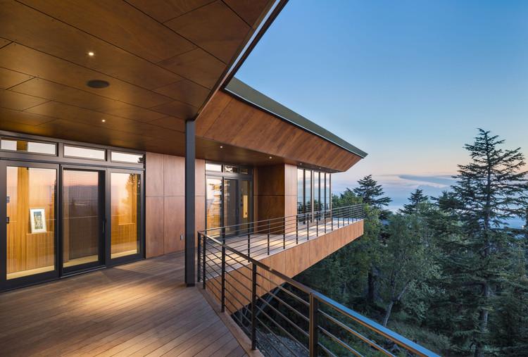 Residencia Golden View / Мастерская AD - Анкоридж, АК, Estados Unidos. Изображение Cortesía de Parklex