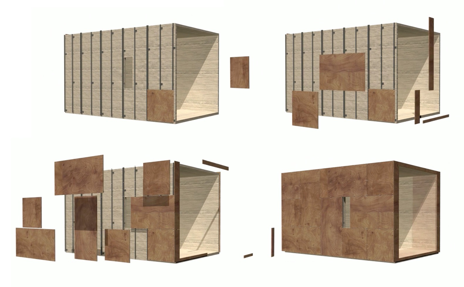 Gallery Of How To Install Ventilated Facades Using Wooden
