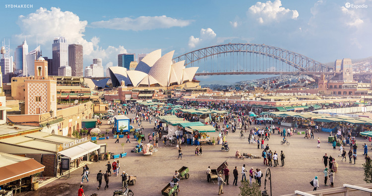 De Río de Londoneiro a Moscambul: 14 ciudades imaginadas como urbes híbridas, Cortesía de NeoMam Studios