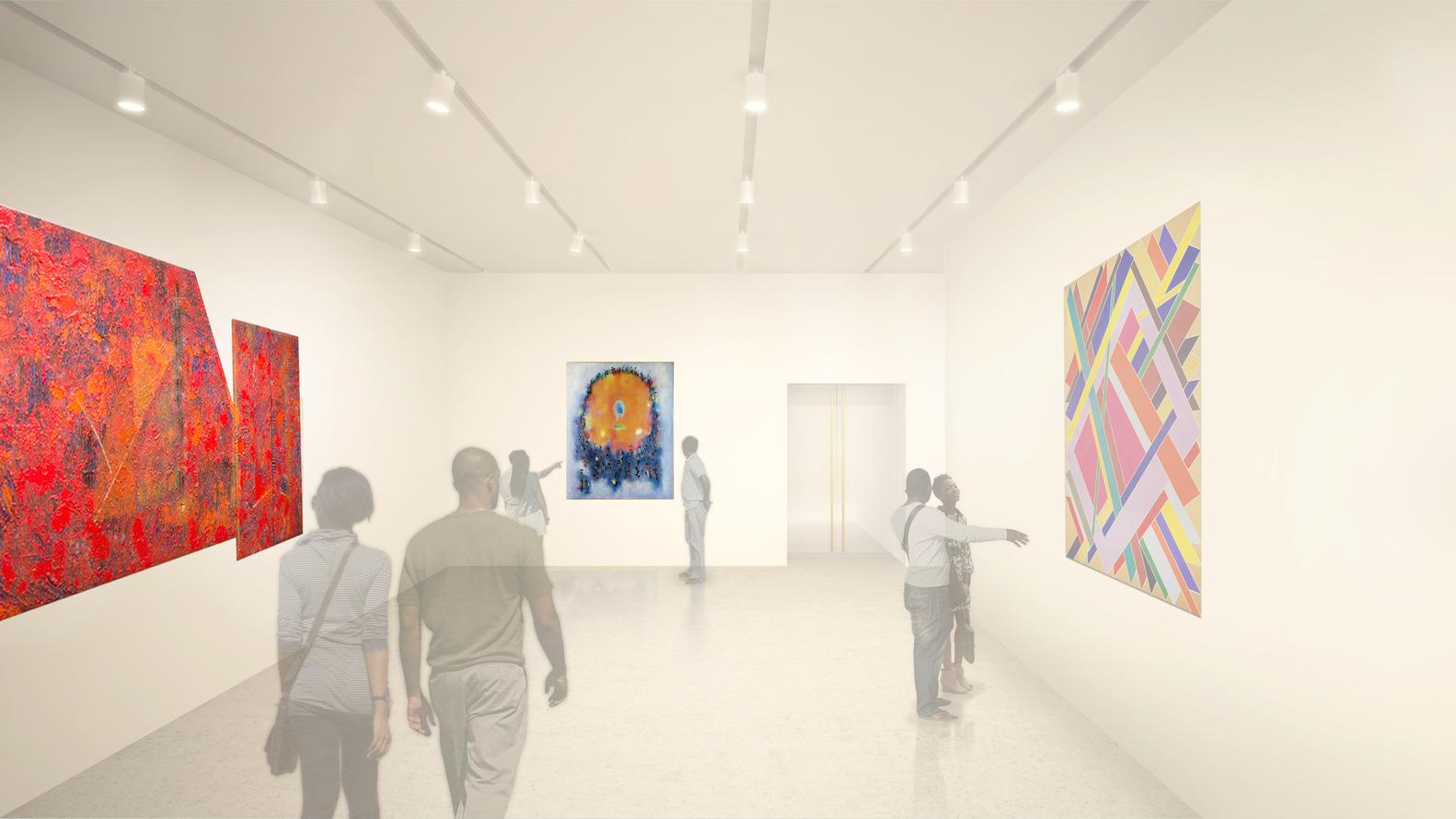 Adjaye Associates' Studio Museum Moves Forward Toward Fall Groundbreaking,Gallery. Image Courtesy of Adjaye Associates