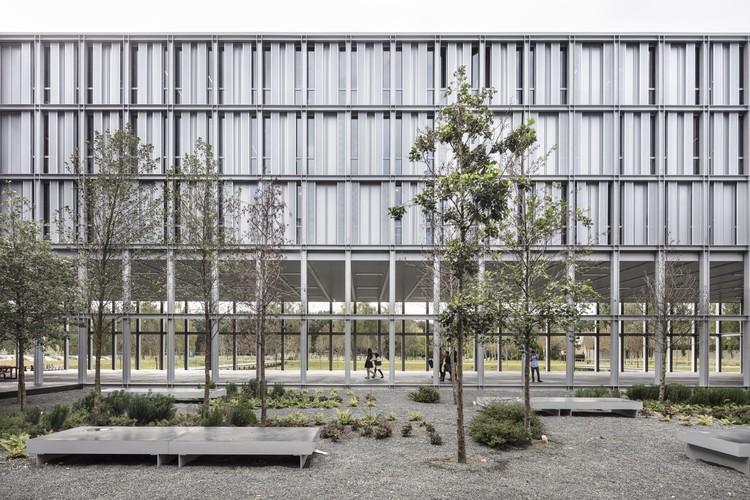 ENSAE PARISTECH Campus Paris-Saclay / CAB Architectes, © Aldo Amoretti