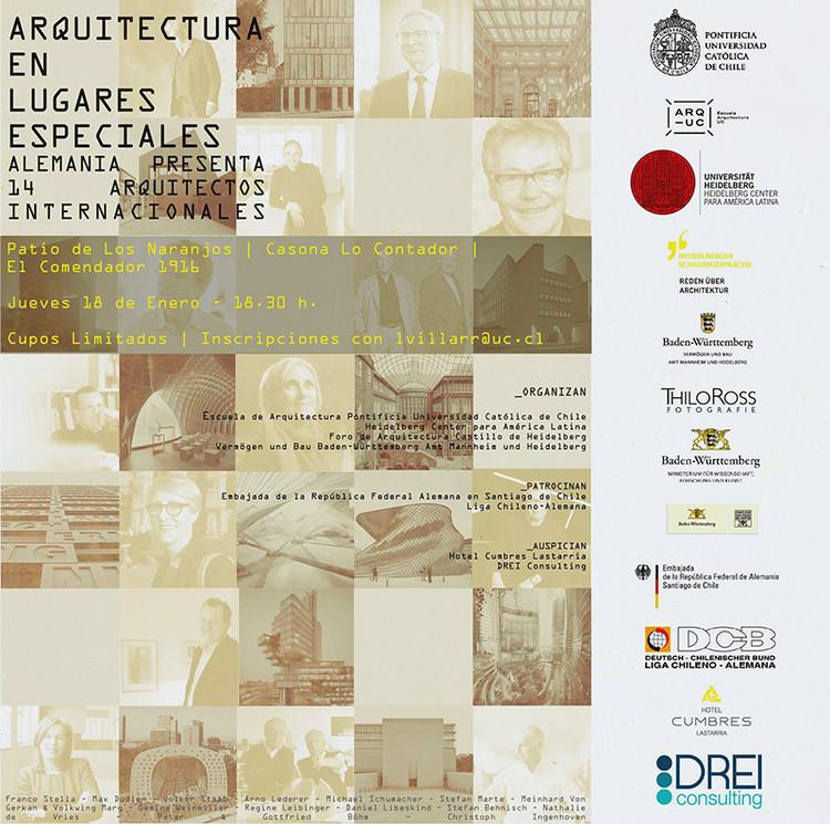 Exhibición 'Arquitectura en lugares especiales'