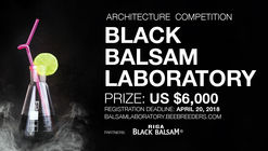 Convocatoria de ideas: Black Balsam Laboratories