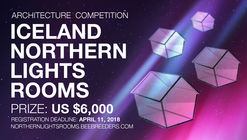 Convocatoria de ideas: Iceland Northern Lights Rooms
