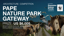 Convocatoria de ideas: Pape Nature Park Gateway
