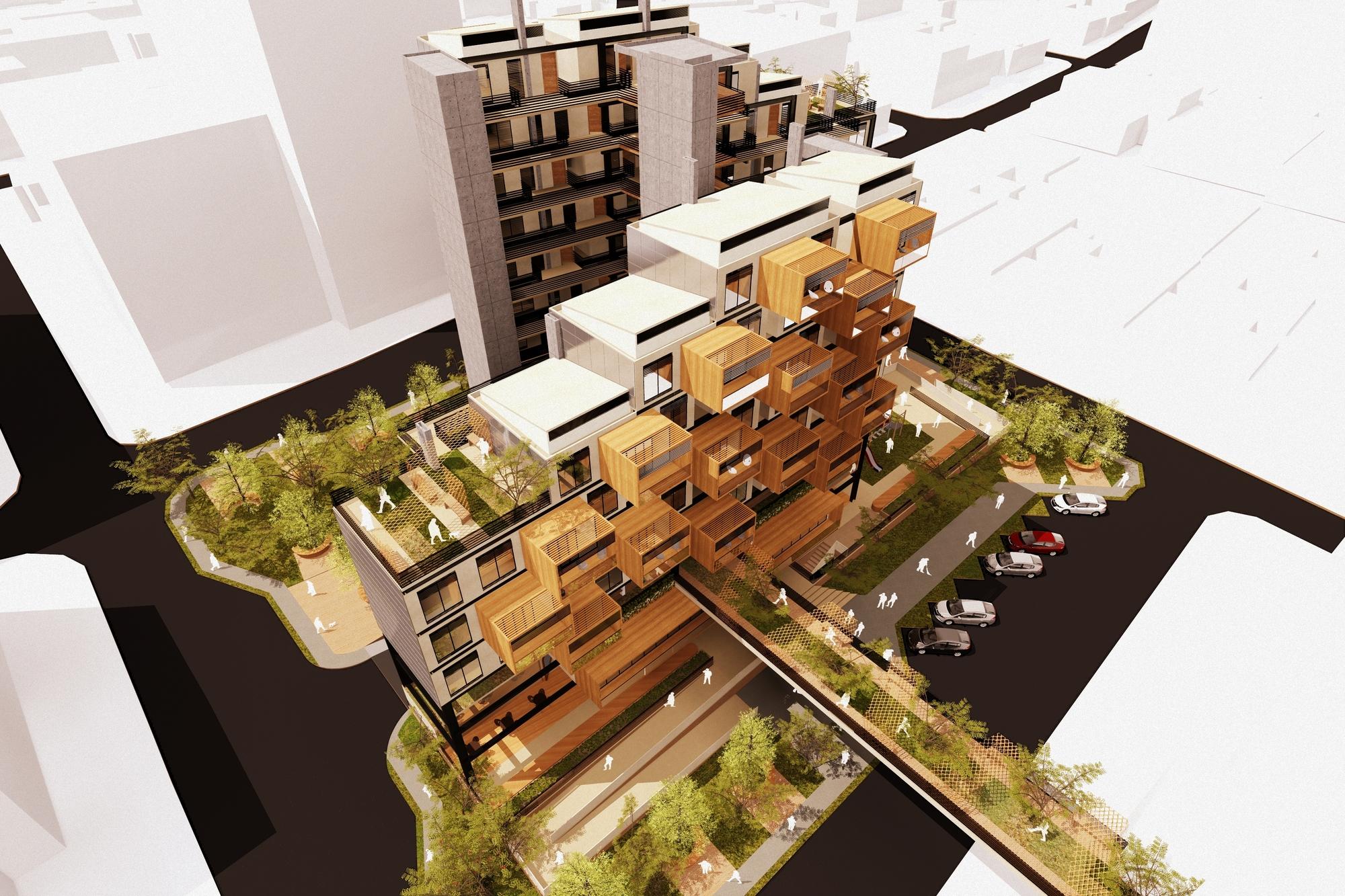 bhp un prototipo de vivienda multifamiliar bioclim tico desarrollado en colombia archdaily m xico. Black Bedroom Furniture Sets. Home Design Ideas