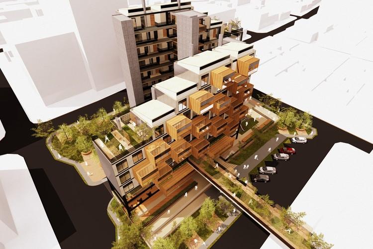 BHP, un prototipo de vivienda multifamiliar bioclimático desarrollado en Colombia, Cortesía de Natalia Carrero + Juan Celis