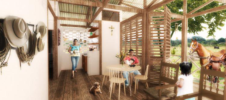 Conoce este modelo de asentamiento rural integral propuesto por estudiantes colombianos en Yopal, © Daniel Vanegas + Tatiana Cantor