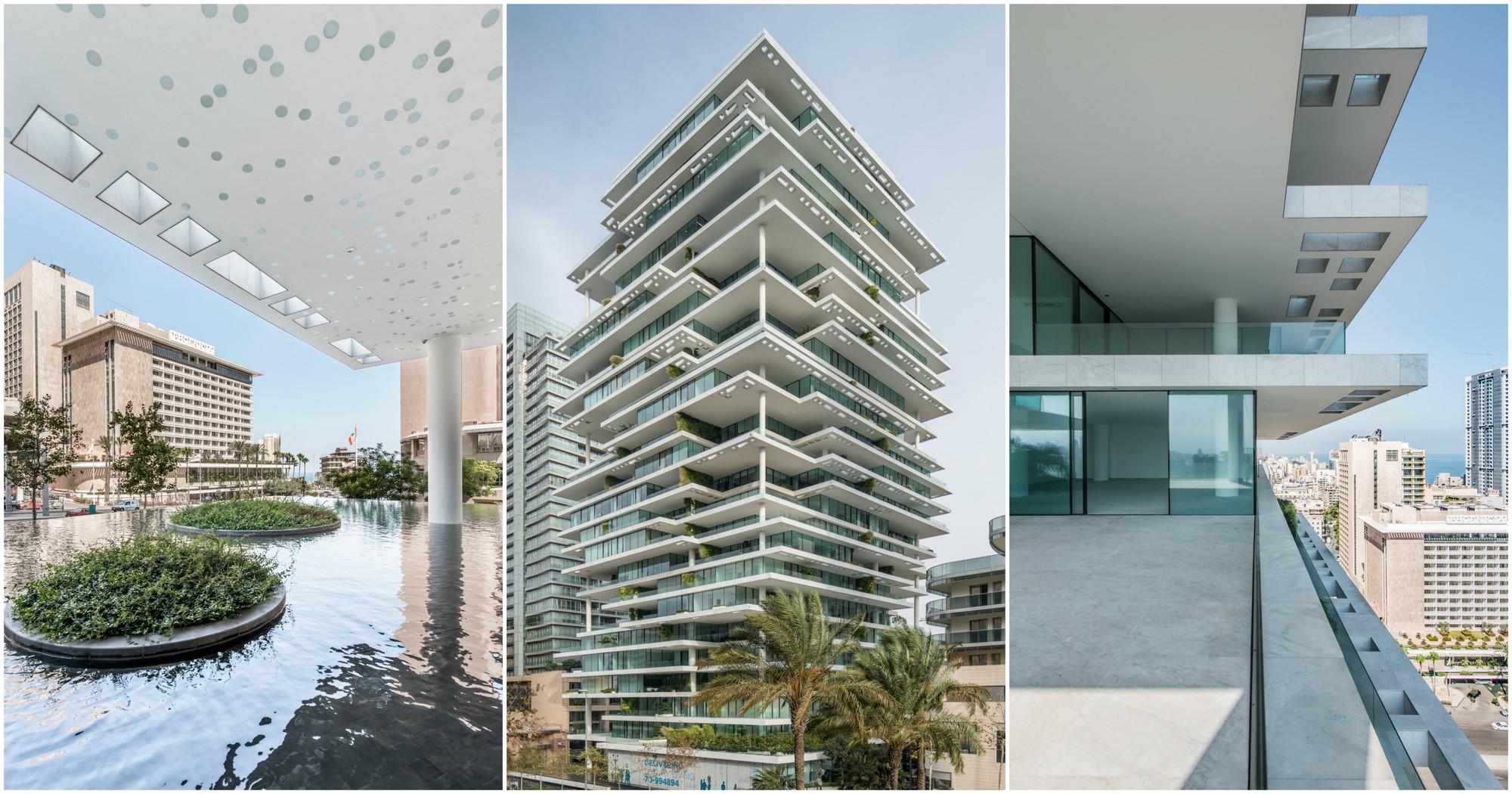 Photos Capture the Luxurious Life Inside Herzog & de Meuron's Beirut Terraces