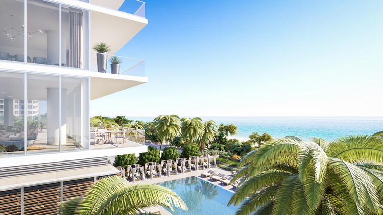 KAR Properties LLC inaugura showroom de '2000 Ocean', el nuevo desarrollo de TEN Arquitectos en el sur de Florida, Cortesía de Levy Public Relations