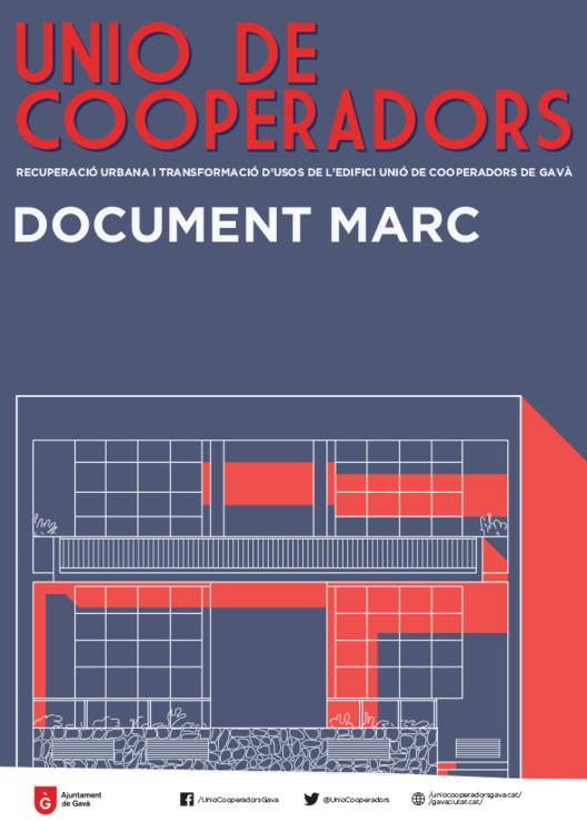 Documento Marco del proceso participativo #CooperaGavà. Image Cortesía de Paisaje Transversal