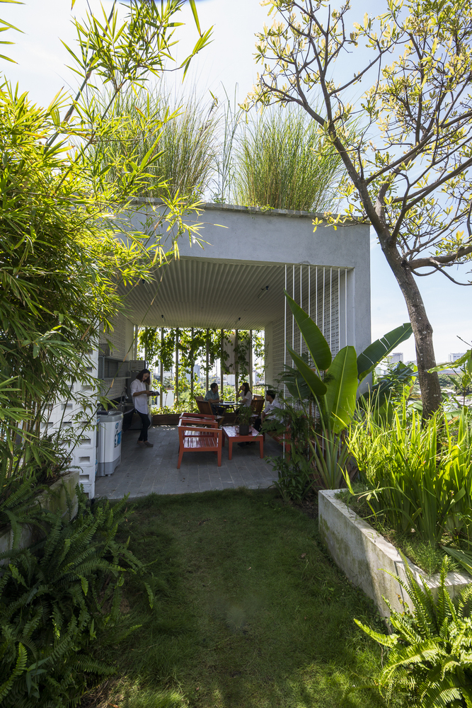 Gallery of The Modern Village Office Ho Khue Architects 7