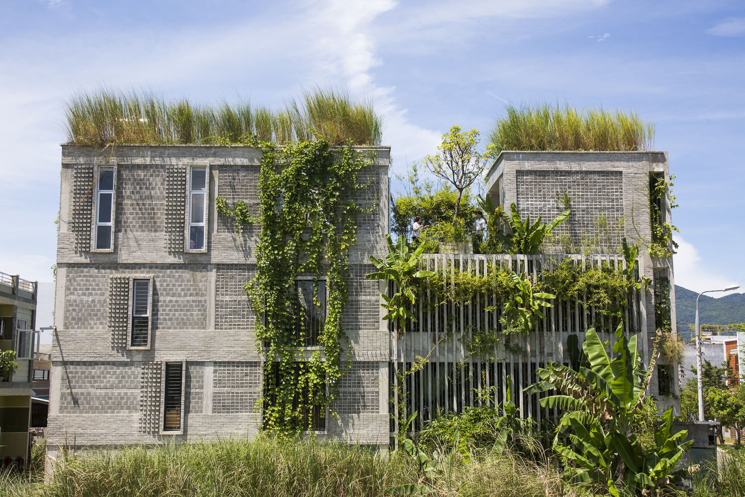 Gallery of The Modern Village Office Ho Khue Architects 8