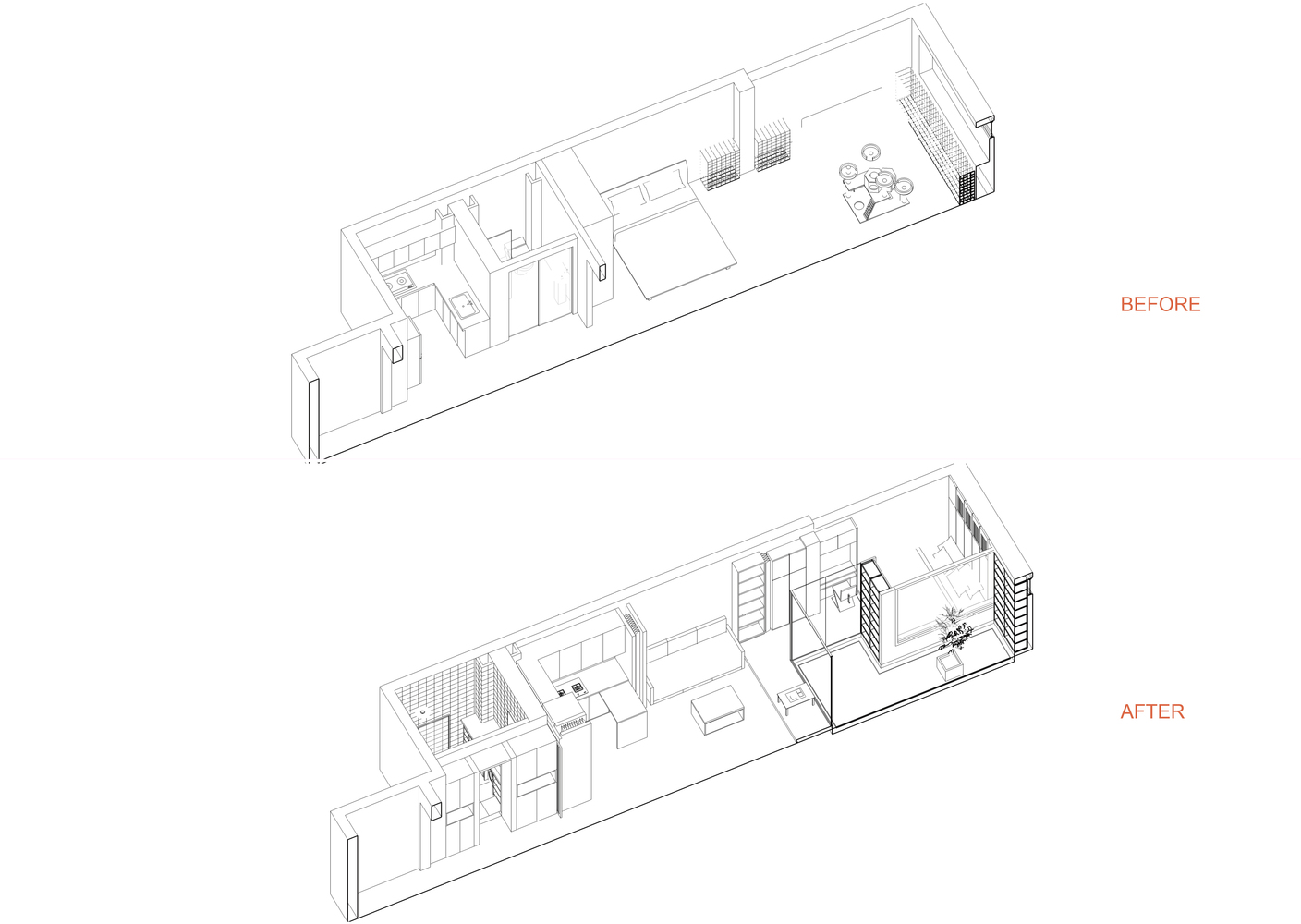 Gallery Of Cat House Fanaf 48. Cat Houseaxonometric. Wiring. Diagram Of A Cat House At Scoala.co