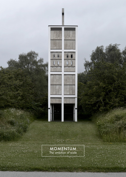 Momentum #1: La Ambición de la Escala, Malmö Eastern Cemetery, fotografía de Alejandro Carrasco Hidalgo.