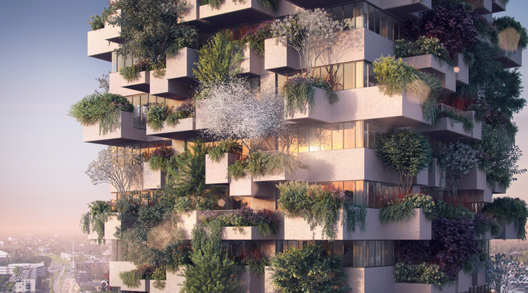 Stefano Boeri Architetti's Vertical Forest is the Very First to be Used in Social Housing, © The Big Picture