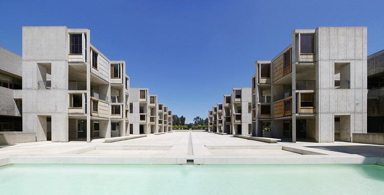 Salk Institute by Louis Kahn, one of the previous winners of the award.. Image © Liao Yusheng