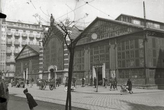 Mercado de San Martín. Image Cortesía de MUGAK Bienal de Arquitectura