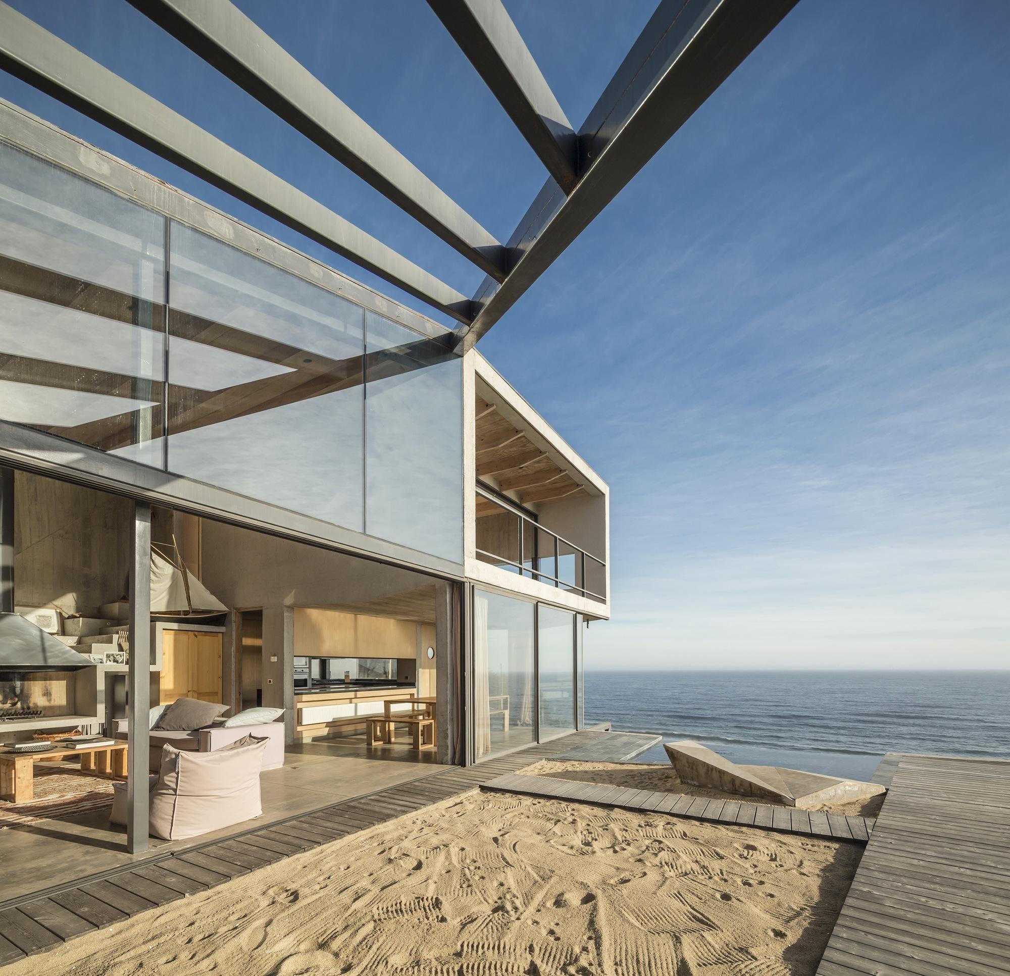 Casa De Playa Martin Schmidt Radic Arquitectos Asociados Archdaily México