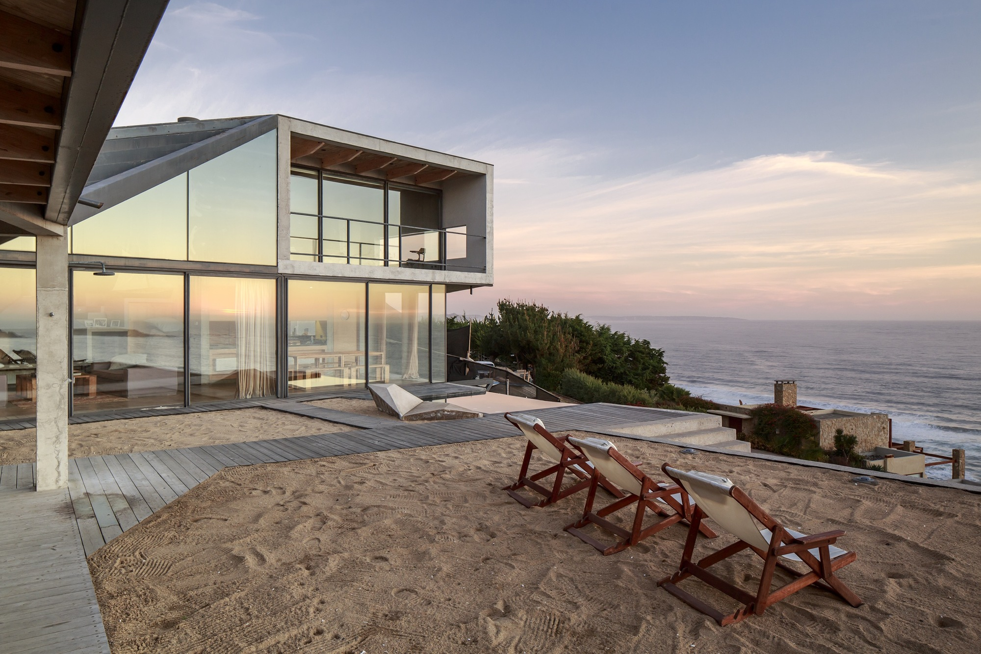 Galer a de casa de playa schmidt arquitectos asociados 22 - Architecture moderne residentielle schmidt lepper ...
