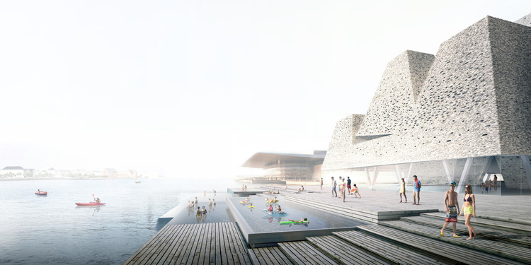 Kengo Kuma & Associates Reveal Plans for New Aquatics Centre on Copenhagen's Waterfront , Courtesy of Kengo Kuma & Associates