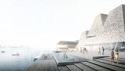 Kengo Kuma & Associates Reveal Plans for New Aquatics Centre on Copenhagen's Waterfront