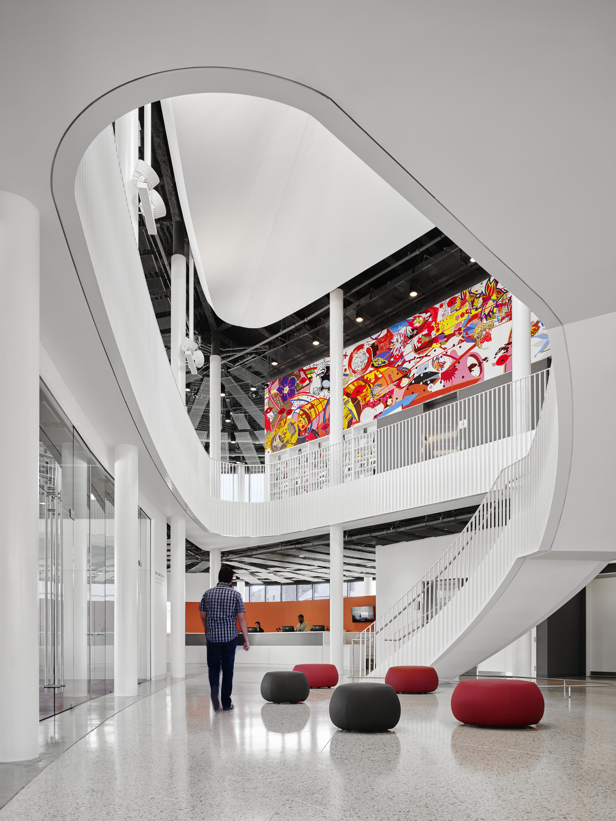 Gallery of diller scofidio renfro brooks scarpa among for Chinatown mural chicago