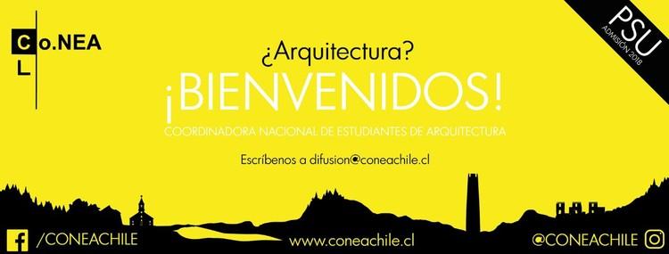 Convocatoria a todos los Estudiantes de Arquitectura, Difusión Co.NEA Chile