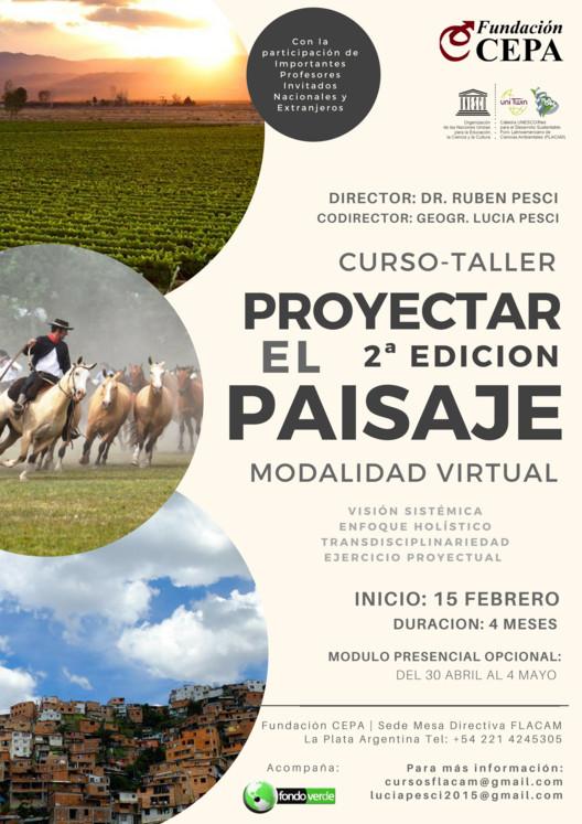 Curso-taller 'Proyectar el paisaje', Fundación CEPA