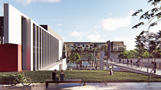 Competition Winning Proposal for Band?rma Onyedi Eylül University Campus in Turkey Will Support the Local Industry