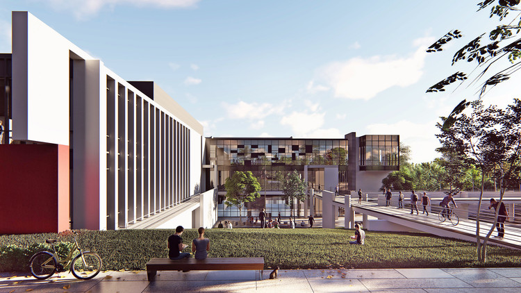 Competition Winning Proposal for Bandırma Onyedi Eylül University Campus in Turkey Will Support the Local Industry, Courtesy of Beoffice