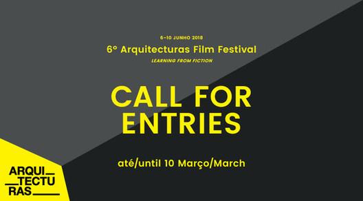 Arquitecturas Film Festival abre chamada para filmes, via Arquitecturas Film Festival