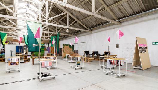 Exhibition Utilidade Pública, at Vila Itororó. Image © FLAGRANTE / Romullo Fontenelle