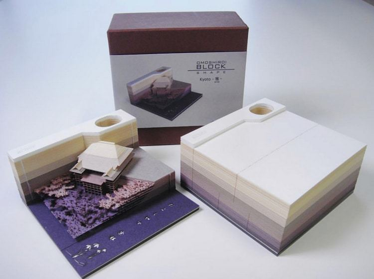 Gallery of These Japanese Memo Pads Reveal Architectural