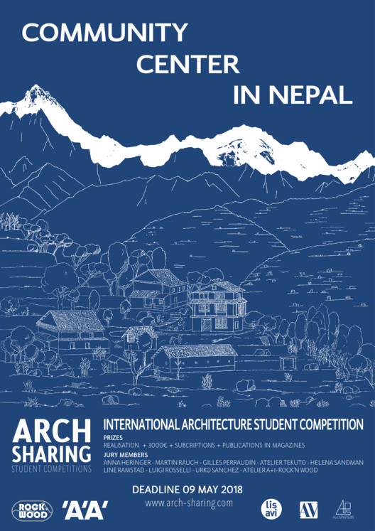 Call for Entries: Community Center in Nepal, ARCHsharing