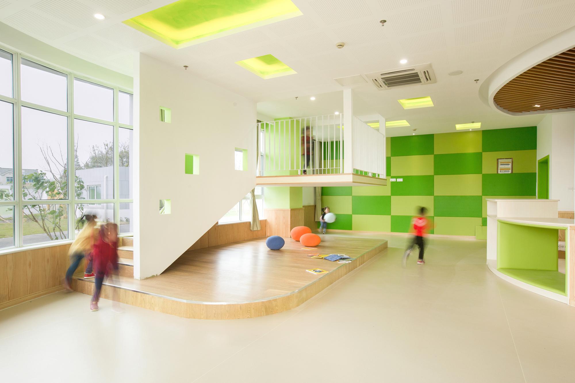 Modern Preschool Classroom Design ~ Gallery of sanhuan kindergarten perform design studio