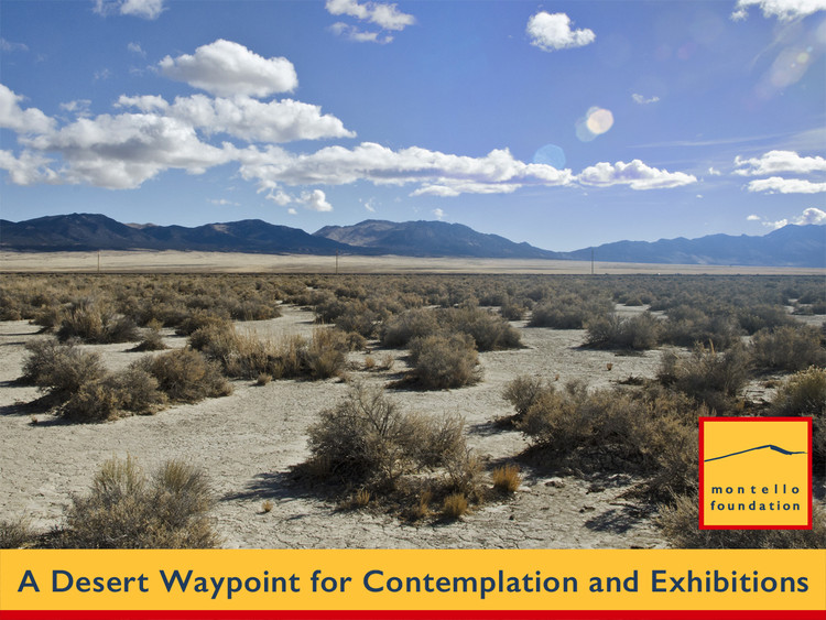 Competition: Desert Waypoint for Contemplation and Exhibitions, The site near Montello, NV Photo: Stefan Hagen