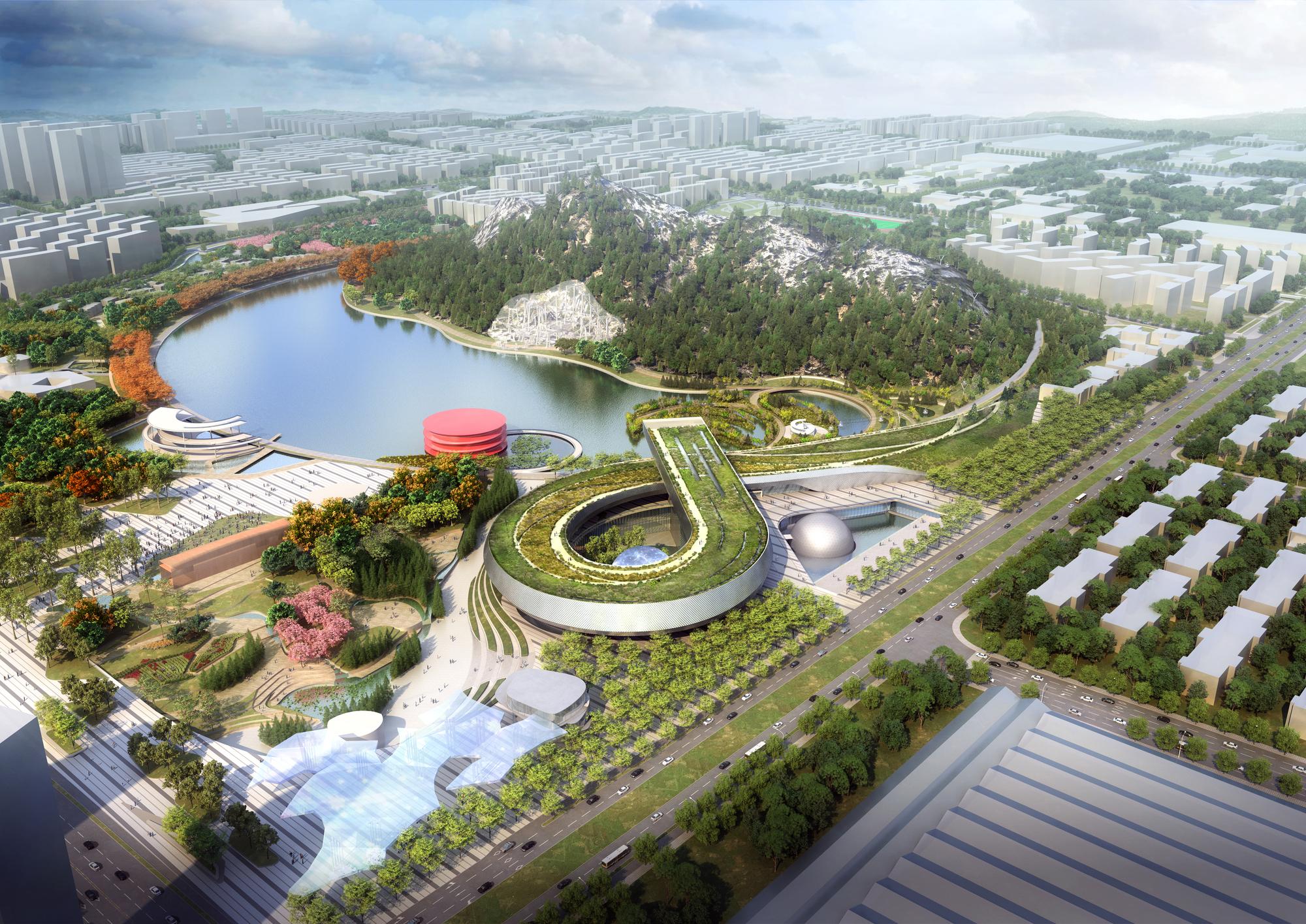 Perkins will is creating a whole new world for the suzhou for Layout di seminterrato finito