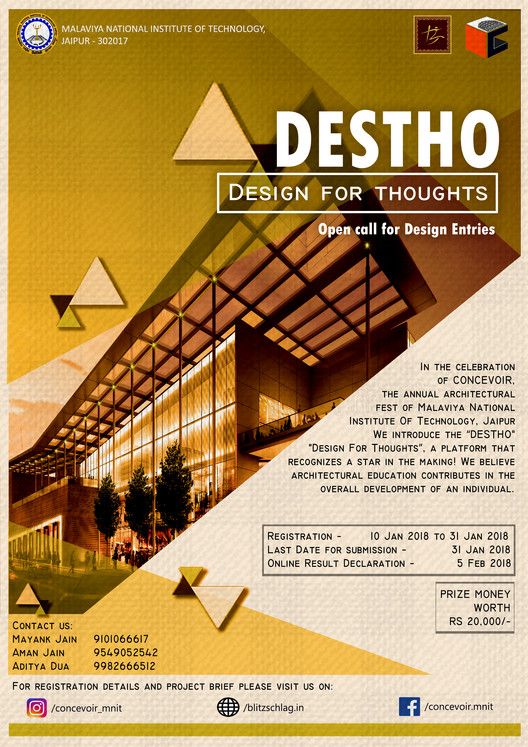 Open Call: Learning Resource Center Design Competition, Event Description poster