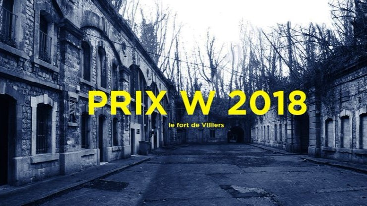 Call for Entries: Prix W 2018